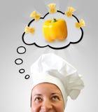 Idéia do cozinheiro Imagem de Stock
