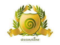 Idéia do logotipo de Dreamstime Fotografia de Stock