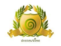 Idéia do logotipo de Dreamstime Fotografia de Stock