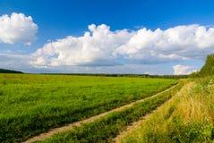 idilic τοπίο αγροτικό Στοκ εικόνες με δικαίωμα ελεύθερης χρήσης