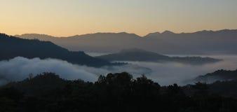 Idillic landscape near Pokhara Royalty Free Stock Photos