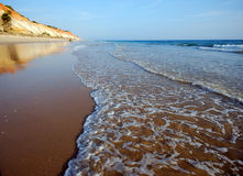 Idillic sand beach on the Atlantic coast Stock Photo
