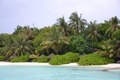 Idillic Tropical Resort Beach Stock Photos