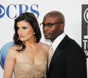 Idina Menzel and Taye Diggs Royalty Free Stock Photo