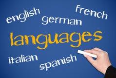 Idiomas Foto de archivo libre de regalías