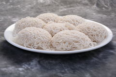 Idiyappam steam cooked rice noodles Stock Photography