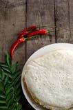 Idli印地安人食物 库存照片
