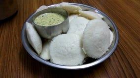 Idli & чатни кокоса Стоковое фото RF
