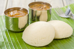 Idli, Chutney and Sambar Royalty Free Stock Image