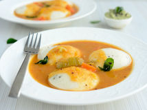Idli Sambhar and coconut chutney Stock Image
