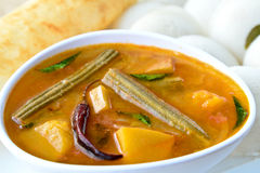 Idli Sambhar Royalty Free Stock Photos