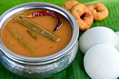 Idli Sambhar Royalty Free Stock Images