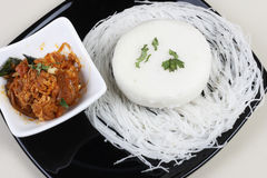 Idli - Steamed rice cakes from South India Royalty Free Stock Images