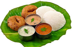 Idli Vada Sambhar Royalty Free Stock Photos