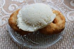 Idli and vadas. South Indian Food Idli,, Vada Royalty Free Stock Photo