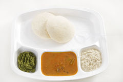 Idly Sambar or Idli Sambar Stock Photo