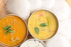 Idly sambar Royalty Free Stock Images