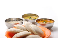 Idly sambar Royalty Free Stock Photos