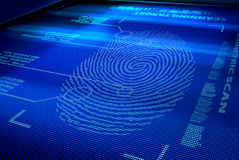 IDmanöverenhetssystem royaltyfri foto