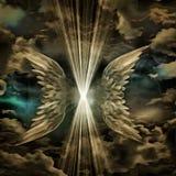 Ido volando estando de luz ilustración del vector