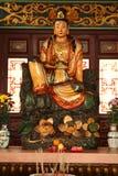 An idol at Chin Swee Caves Temple. A worshiping god in Chin Swee Caves Temple, Malaysia Royalty Free Stock Photos