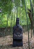 Idol. Chinese idol in the Nikitsky Botanical Garden, Crimea Stock Images