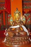 Idol Of Goddess In Norbulingka Institute, Dharamshala Royalty Free Stock Images