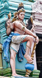 Idol at Hindu Balaji temple Royalty Free Stock Photos