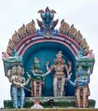 Idol at Hindu Balaji temple Stock Images