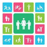 Idol icon Royalty Free Stock Images