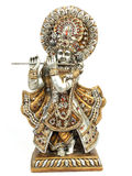 Idol of lord krishna. With flute Royalty Free Stock Photos