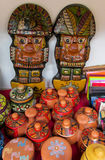 Idol at mercado de las brujas in Bolivia Royalty Free Stock Images