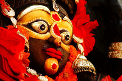Free Idol Of A Decorated Indian God Stock Images - 36985014