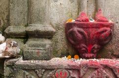 Idol stone. Stone idol during the ambubashi mela at kamakhya temple, assam Royalty Free Stock Photo