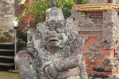 Idol. At a temple in Bali, Indonesia Royalty Free Stock Images