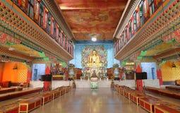 Idol von Lord Buddha im Kloster von Bodh-gaya, Bihar Indien stockfotos
