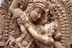 Idol von Lord krishna lizenzfreie stockfotografie