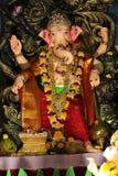 Idol władyka Ganesha podczas festiwalu zdjęcie royalty free