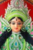 Idole bogini Durga. Obrazy Royalty Free