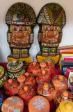 Idole chez mercado de las brujas en Bolivie Images libres de droits