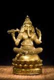 Idole de figurine de seigneur Ganesh Blessing Everyone photographie stock