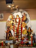 Idole de Jaggadhatri Image libre de droits