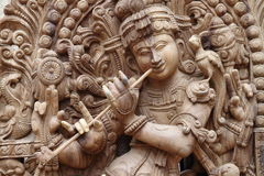 Idole de krishna de seigneur photo libre de droits