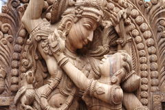 Idole de krishna de seigneur photographie stock libre de droits