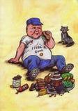 Idole de la nourriture (2013) Photographie stock