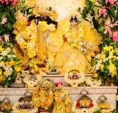 Idole de Radha Krishna Photos stock