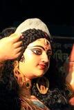 Idole der Göttin Durga Stockfotografie