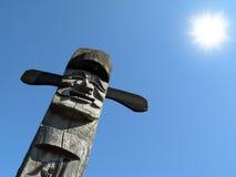 Idole en bois Photo libre de droits