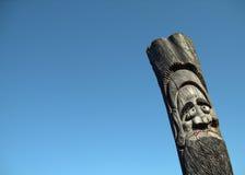 Idole en bois Photo stock