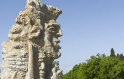 Idole en pierre photo libre de droits
